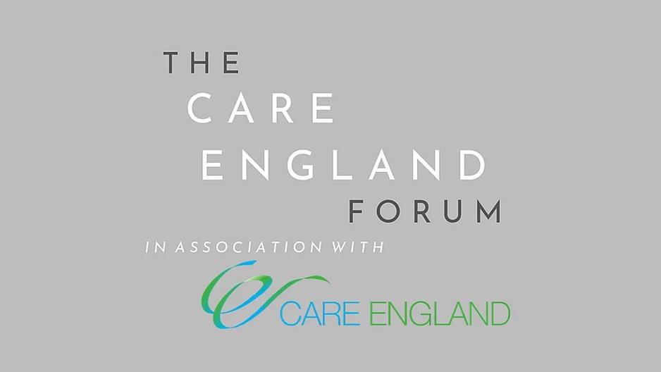 The Care England Forum event logo